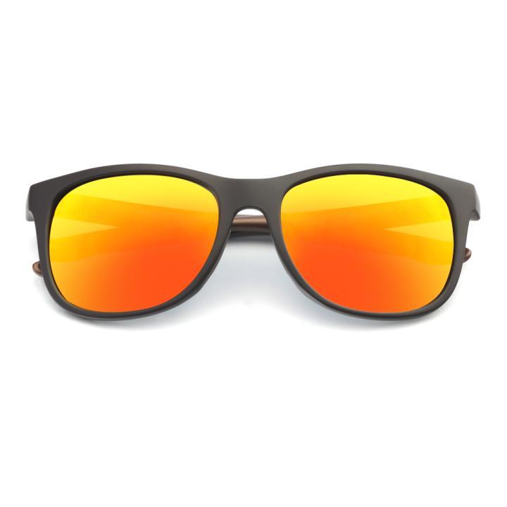 HAN TR偏光太阳镜-哑灰镀膜橘(HN59411-C3)