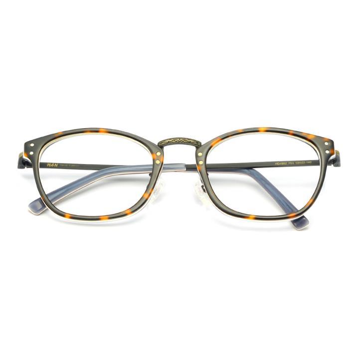 HAN板材金属光学眼镜架-玳瑁色(HD4902-F03)