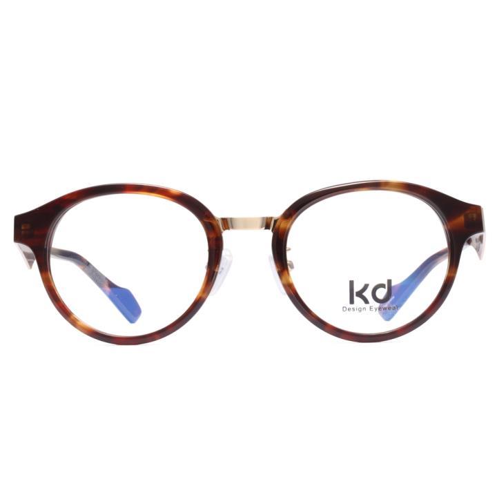 KD设计师手制板材金属眼镜kc7001-C03