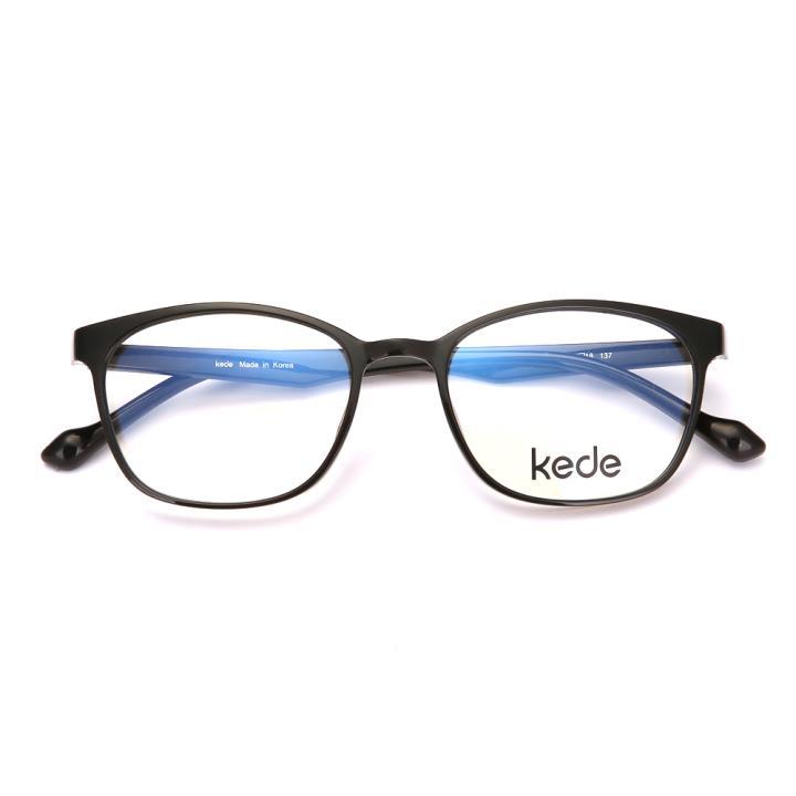 Kede時尚光學眼鏡Ke1820-F01 亮深灰