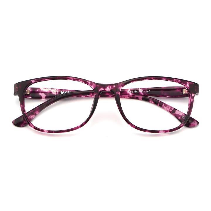 HAN MEGA-TR钛塑光学眼镜架-紫玳瑁(1818-C298)
