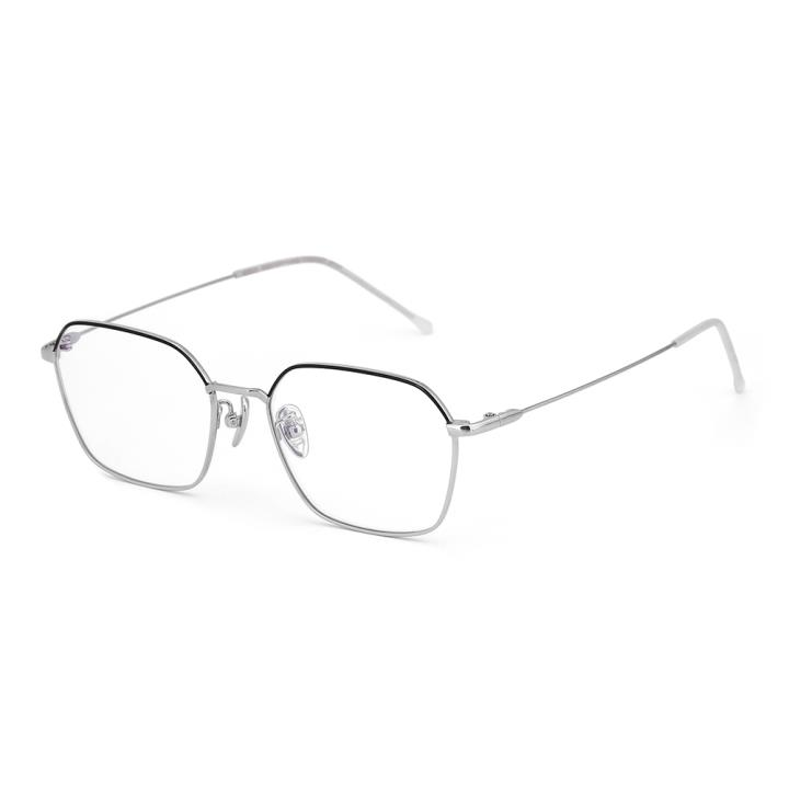 HAN TITANIUM光学眼镜架HN42123S C1 黑/银
