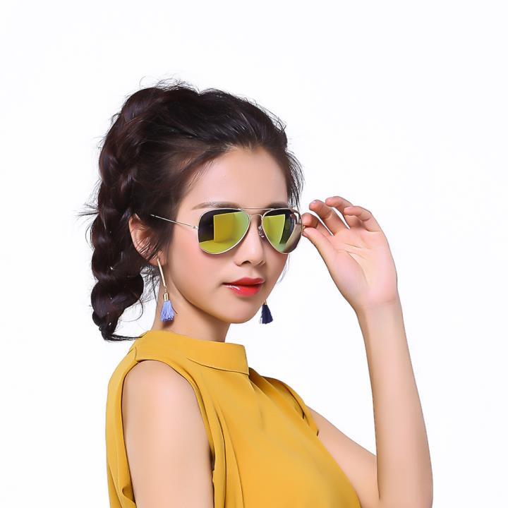 HAN时尚偏光太阳镜HD59312M-S13晴朗明黄
