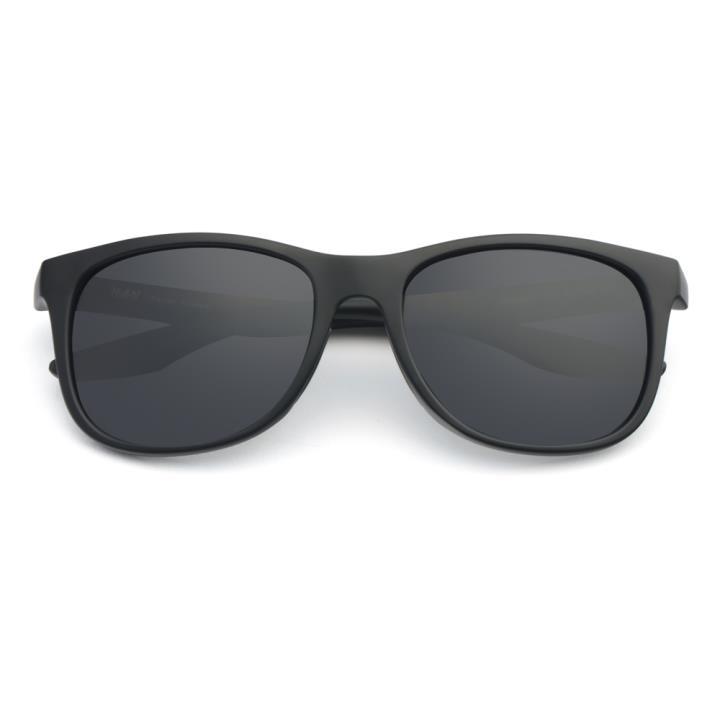 HAN TR偏光太阳镜-黑框灰色片(HN59411-C1)