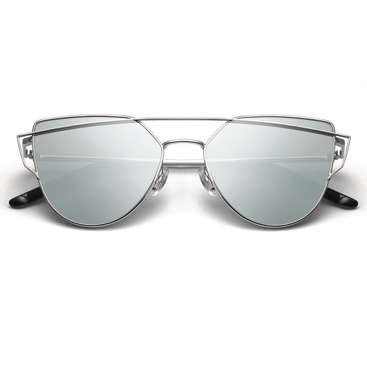 HAN RAZR-X9 不锈钢防UV太阳眼镜-银框银色片(HD59205-S09)