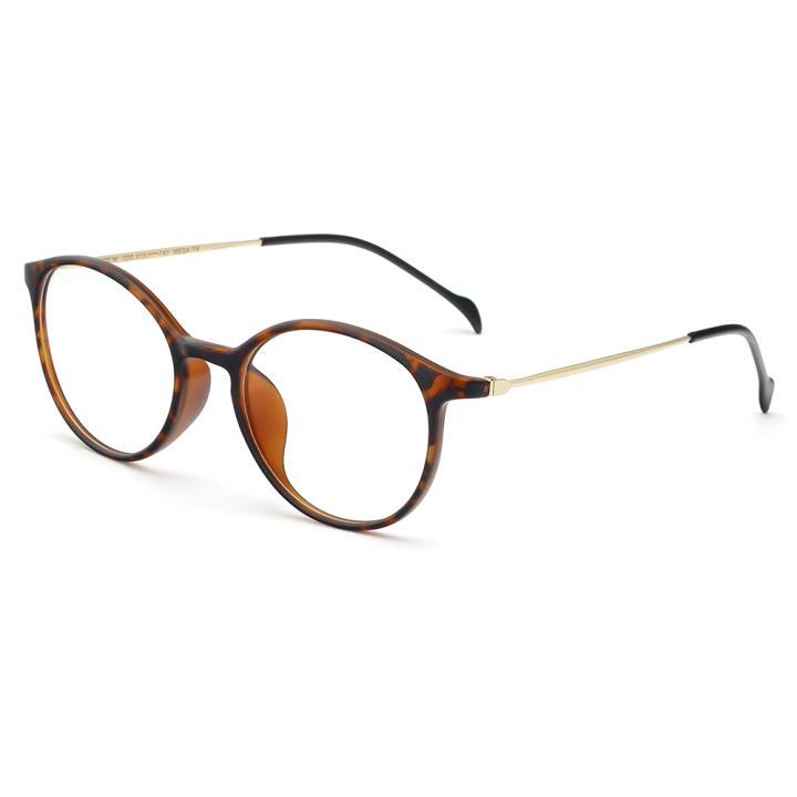 HAN COLLECTION TR钛塑光学眼镜架-哑玳瑁(HN43002 C4)