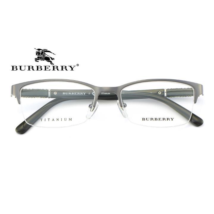 BURBERRY钛合金框架眼镜0BE1280TD 1008 54