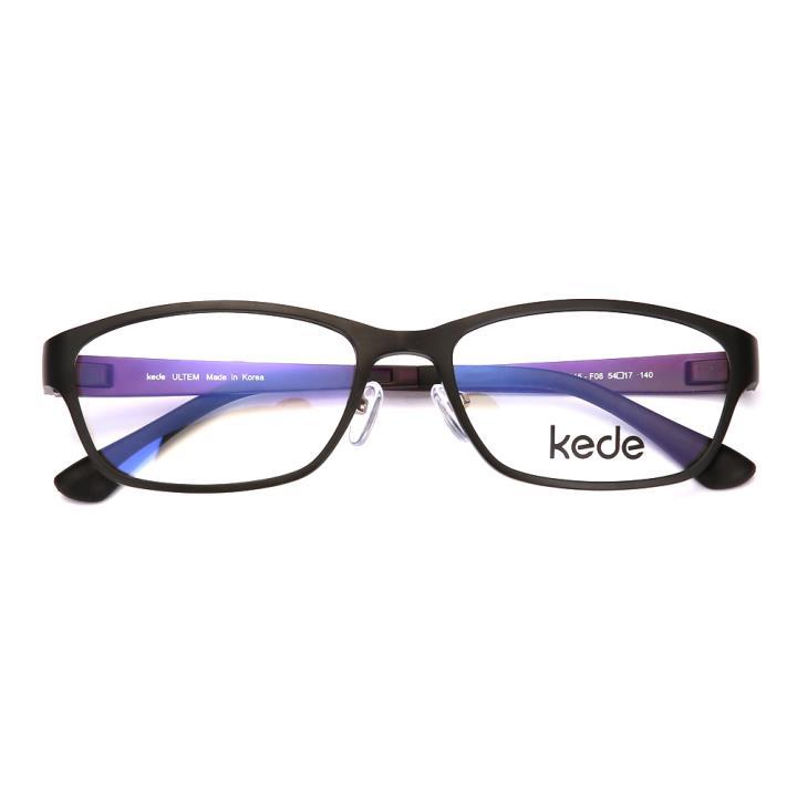 Kede时尚光学眼镜Ke1815-F08 亚扫黑