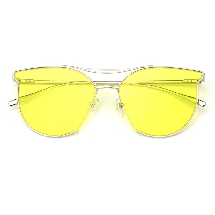 HAN不锈钢防紫外线太阳镜-鲜明黄(HD59120-S13)