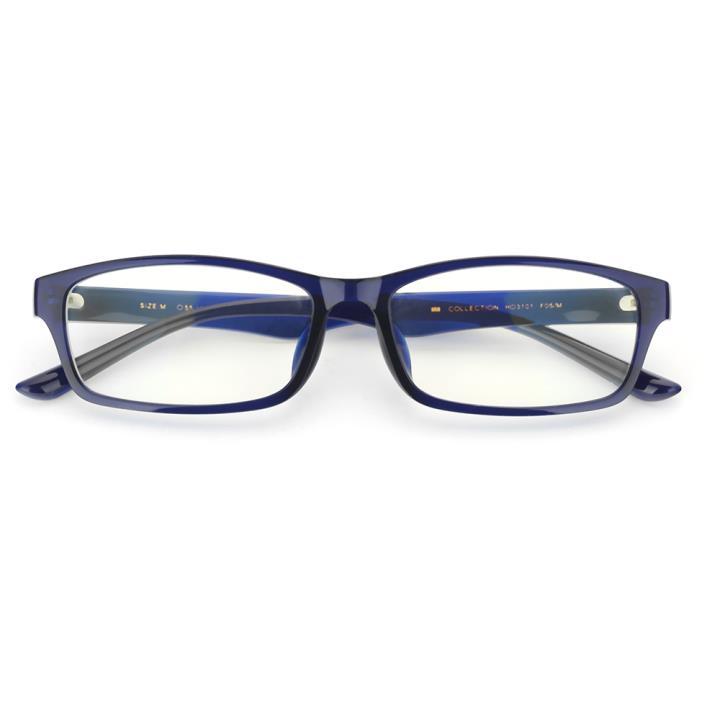HAN MEGA-TR鈦塑光學眼鏡架-百搭深藍(HD3101-F05)