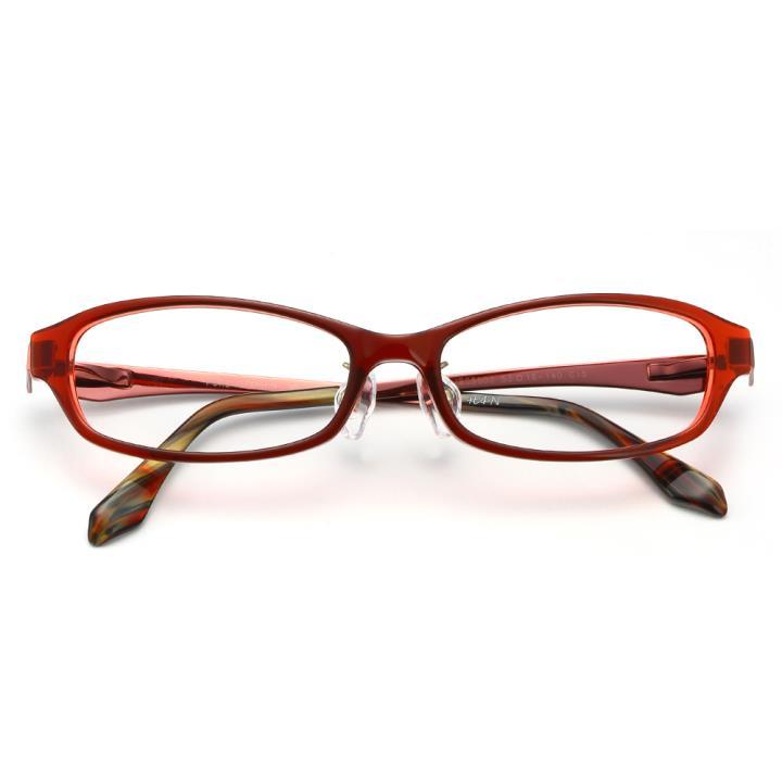 HAN板材金属光学眼镜架-时尚酒红(JBC5003-C8)