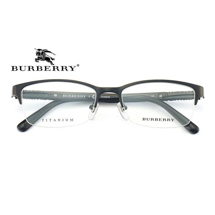 BURBERRY纯钛框架眼镜0BE1280TD 1001 54