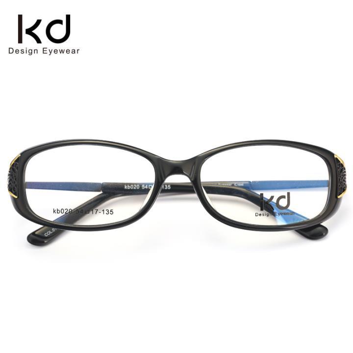 KD设计师手制板材金属眼镜kb020-C01
