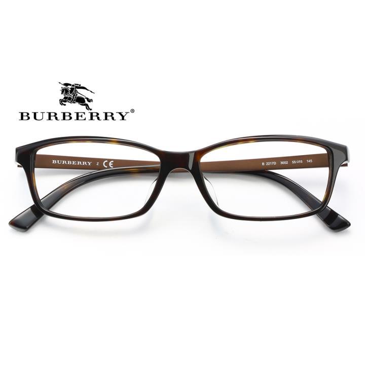 BURBERRY框架眼镜0BE2217D 3002 55