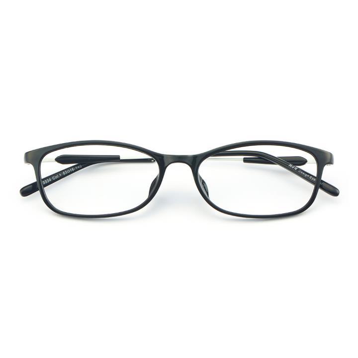 HAN MEGA-TR钛塑光学眼镜架-经典亮黑(3334-C1)
