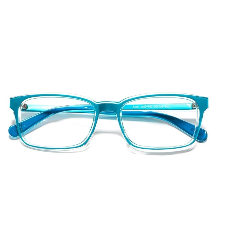 Kede时尚光学眼镜架Ke1410-F07  蓝色