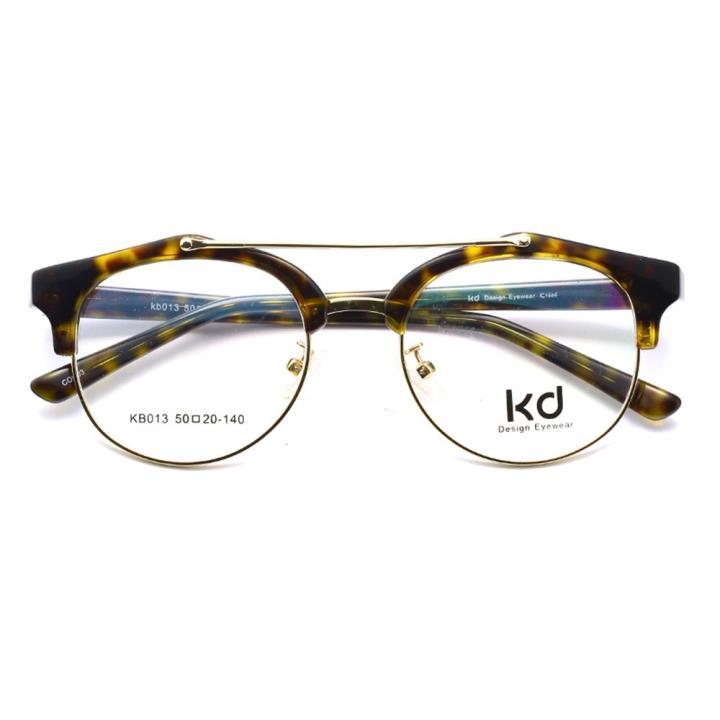 KD设计师手制金属板材眼镜kb013-C03