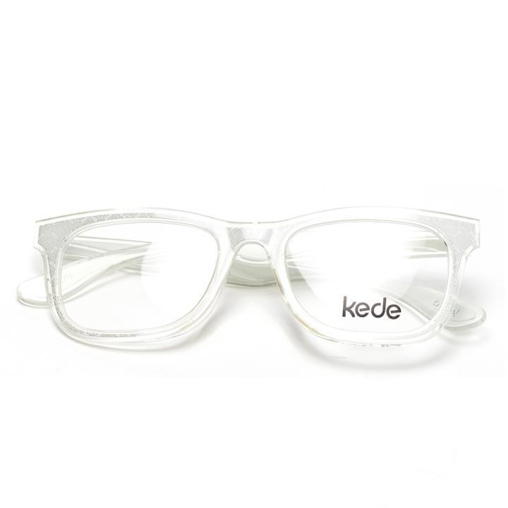 Kede时尚光学眼镜架Ke1409-F11  白色