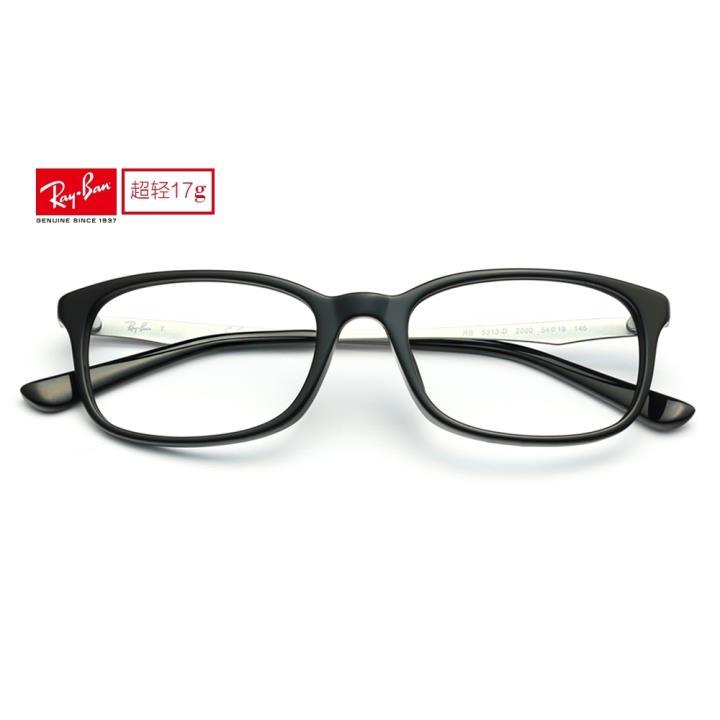 RAY BAN雷朋眼镜架0RX5313D 2000 54 黑色