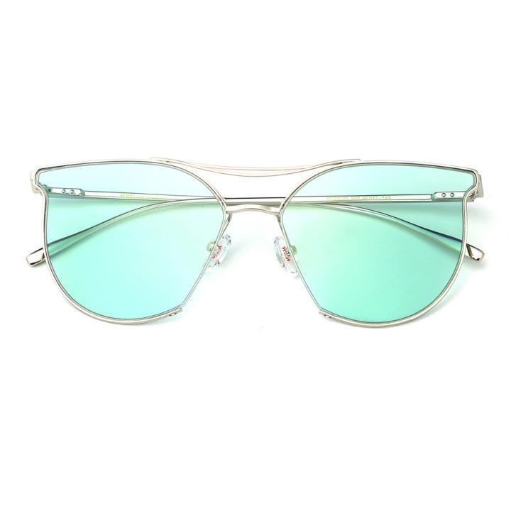 HAN不锈钢防紫外线太阳镜-灵动蓝(HD59120-S07)