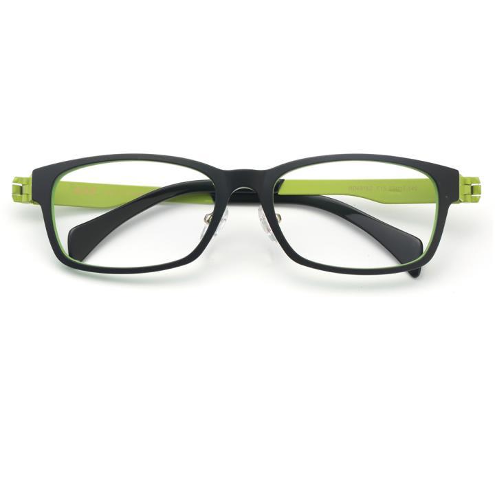 HAN TR金属光学眼镜架-黑绿色(HD49162-F15)