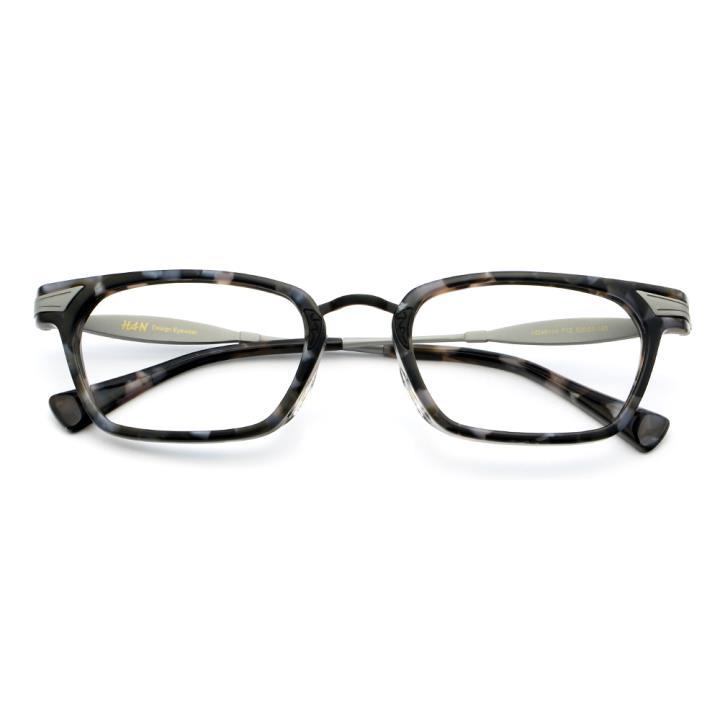 HAN时尚光学眼镜架HD49114-F12炫酷枪灰