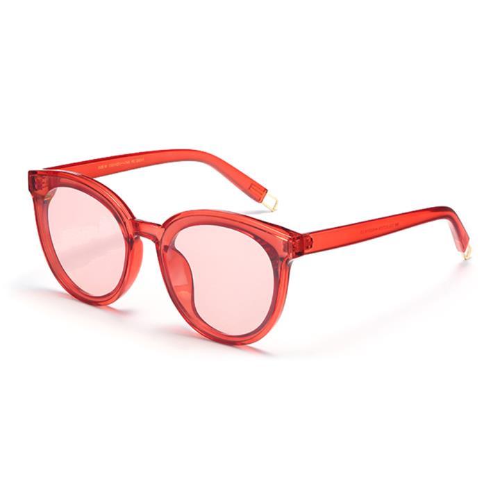 HAN SUNGLASSES防UV太阳眼镜HN52031M C3 红框海洋红
