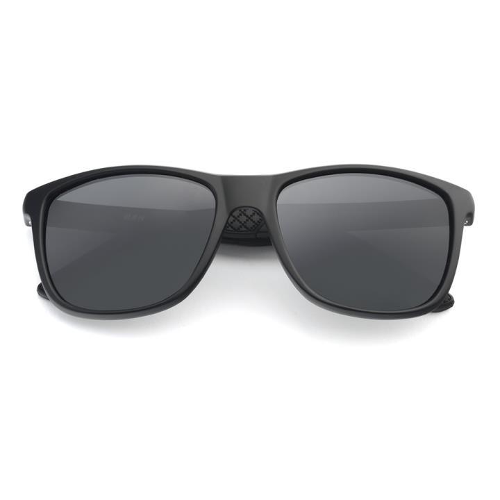 HAN MEGA-TR钛塑偏光太阳镜-黑框灰色片(HN59410-C1)