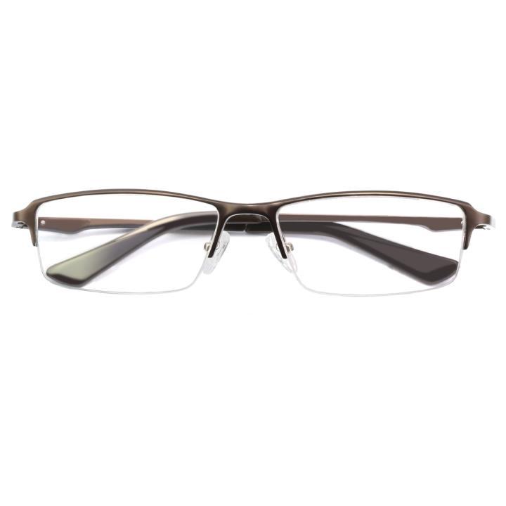 HAN铝镁合金光学眼镜架-深色茶咖(HD4938-F04)