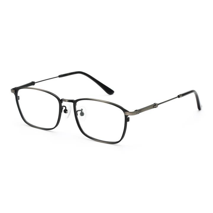 HAN TITANIUM纯钛光学眼镜架HN43031L C2 哑枪