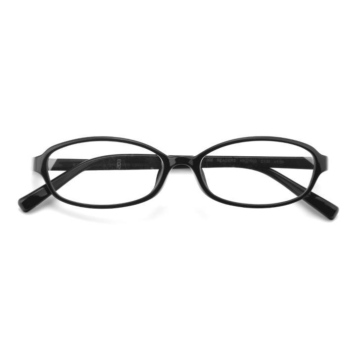 HAN READERS 防蓝光 阅读眼镜HN31003 C1/M 亮黑