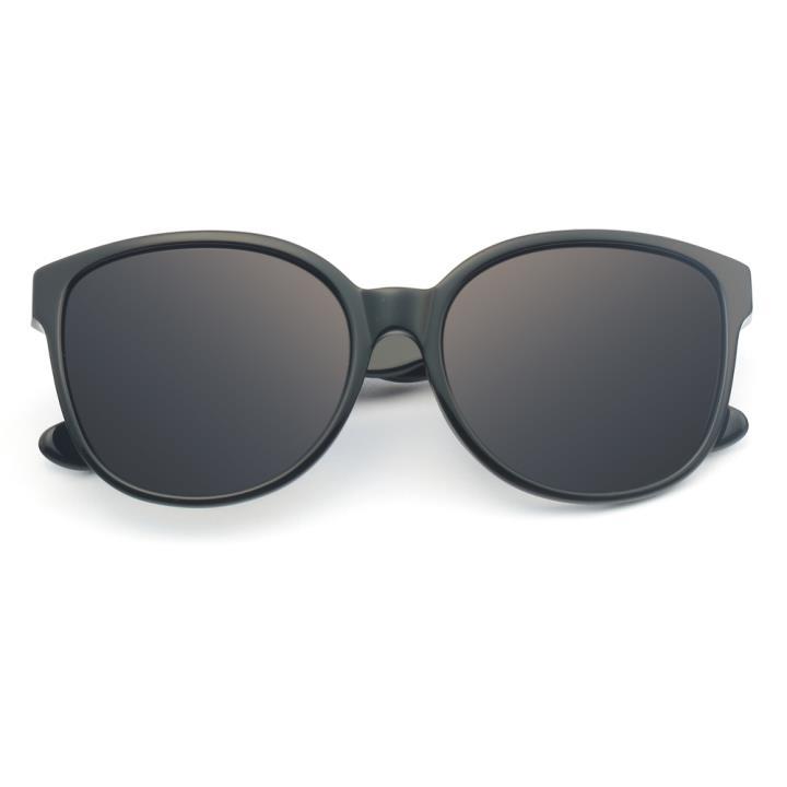 HAN板材偏光太阳镜-黑框渐进黑片(HN59350-C1)