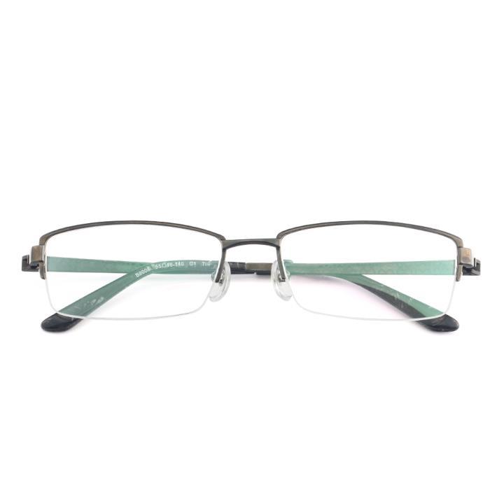 HAN纯钛光学眼镜架-黑色(B8008-C1)