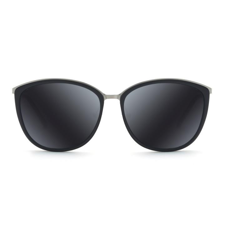 HAN CX尼龙白铜防紫外线太阳镜-黑框灰片(HD59113-S01)