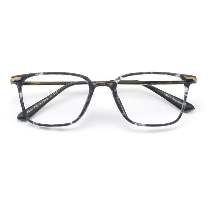 HAN MEGA-TR钛塑光学眼镜架-灰玳瑁(HD49164-C5 )