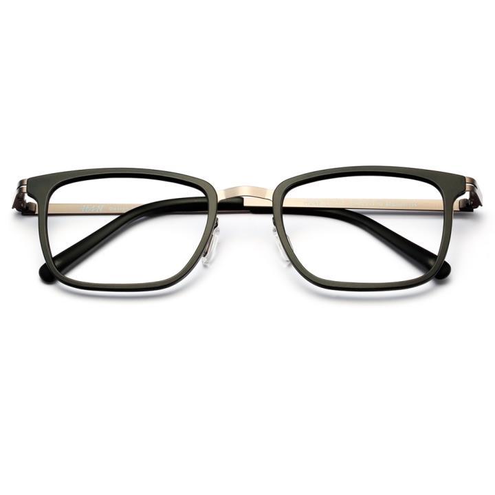 HAN时尚光学眼镜架HD4805-F01 经典亮黑