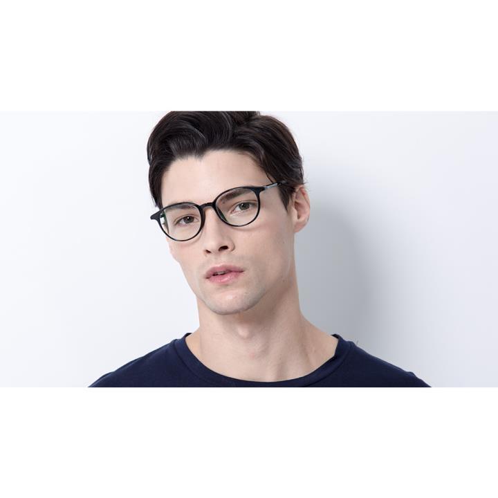 HAN MEGA-TR钛塑光学眼镜架-复古玳瑁(HN48392-C02)