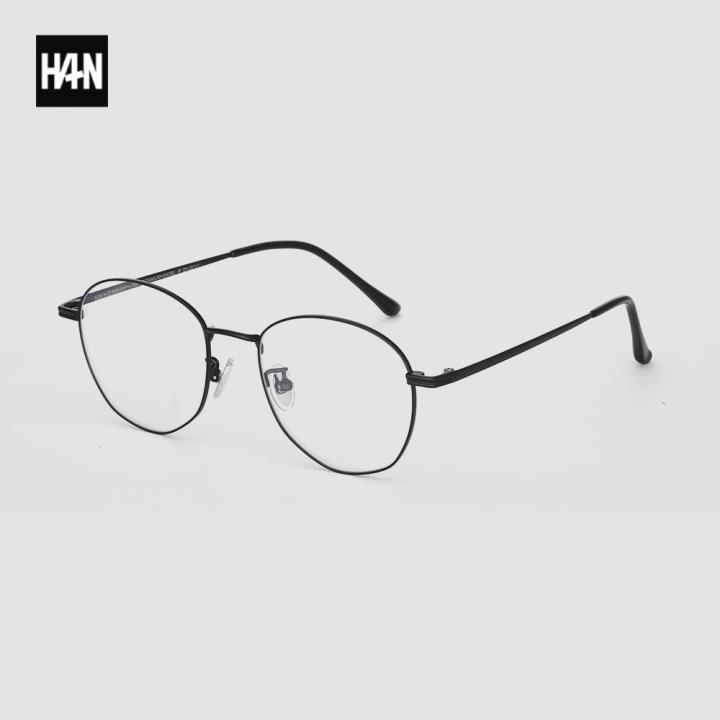 HAN BLACK LABEL光學眼鏡架HN42138M C1黑