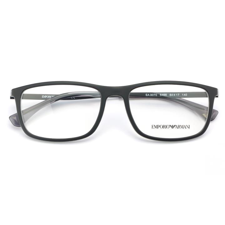 EMPORIO ARMANI框架眼镜EA3070 5468 54 黑色
