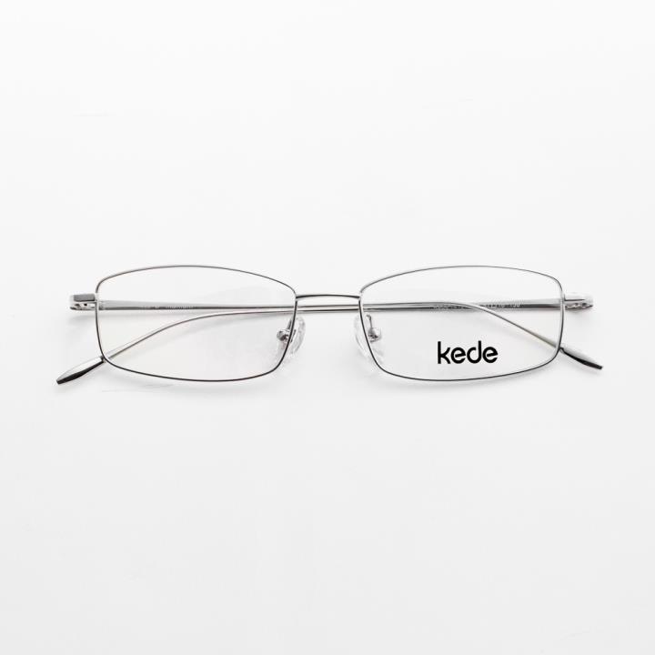 Kede时尚光学眼镜架Ke1412-F09  银色