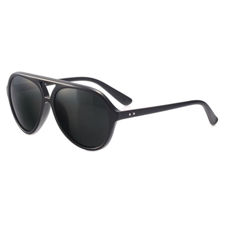 HAN MEGA-TR钛塑偏光太阳镜-黑框黑片(HD2919-S15)可配近视太阳镜片