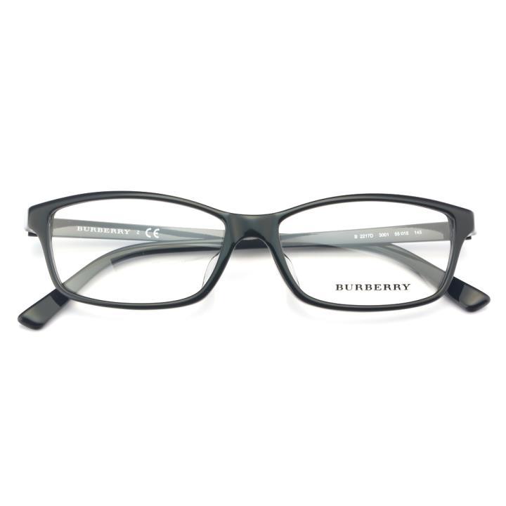 BURBERRY框架眼镜0BE2217D 3001 55 黑色