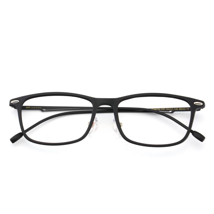 HAN时尚光学眼镜架HD49100-F01哑黑