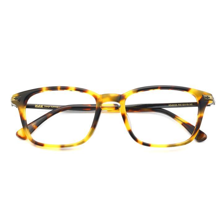 HAN时尚光学眼镜架HD49105-F03复古玳瑁