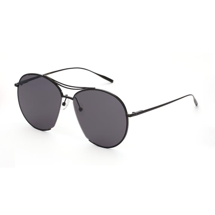 HAN SUNGLASSES防UV太阳眼镜HN51014L C1 黑框灰片