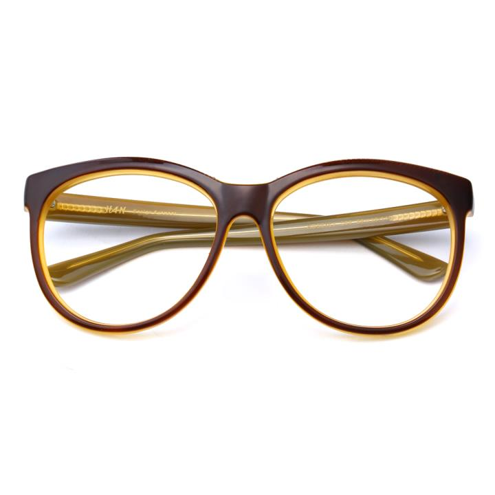 HAN时尚光学眼镜架HD59104-S06 棕框