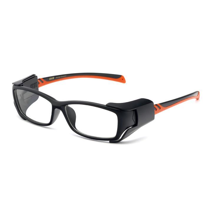 HAN MEGA-TR钛塑运动防风镜-哑黑红(HN49326-C1)