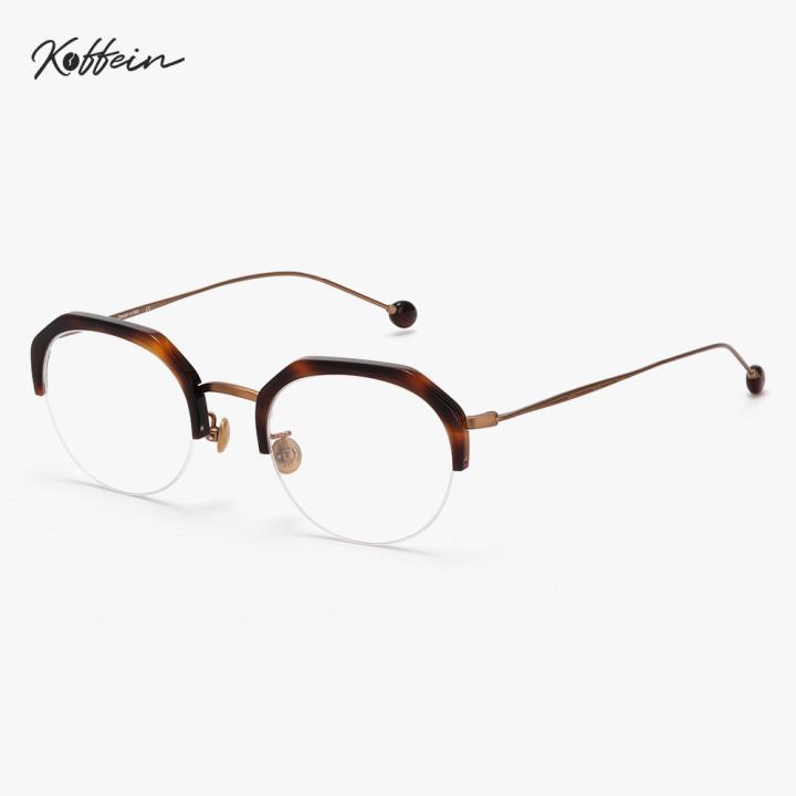 Koffein光学眼镜架Dean COL.3 玳瑁/黑铜