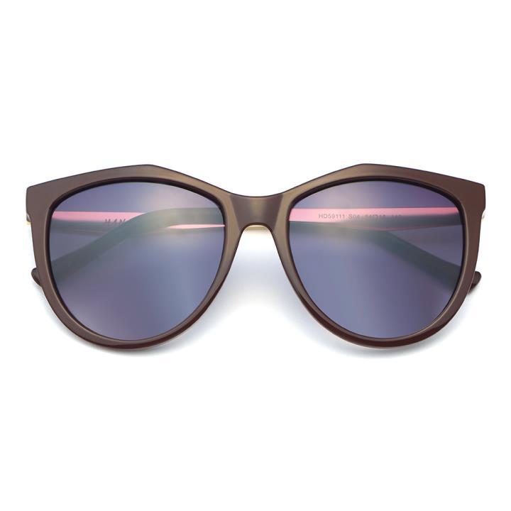 HAN CX尼龙防紫外线太阳镜-棕框灰片(HD59111-S04)