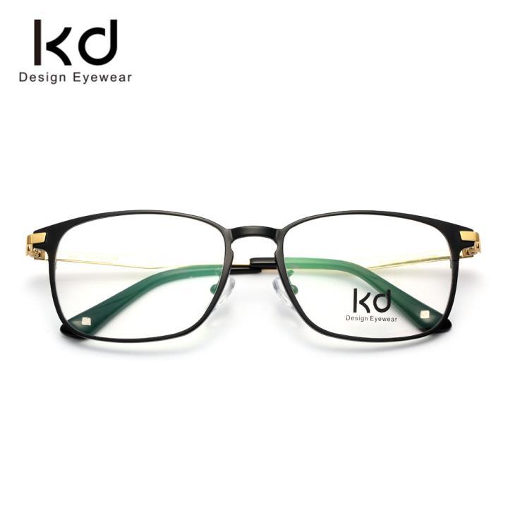 KD时尚光学镜架KD71001-C1 哑黑